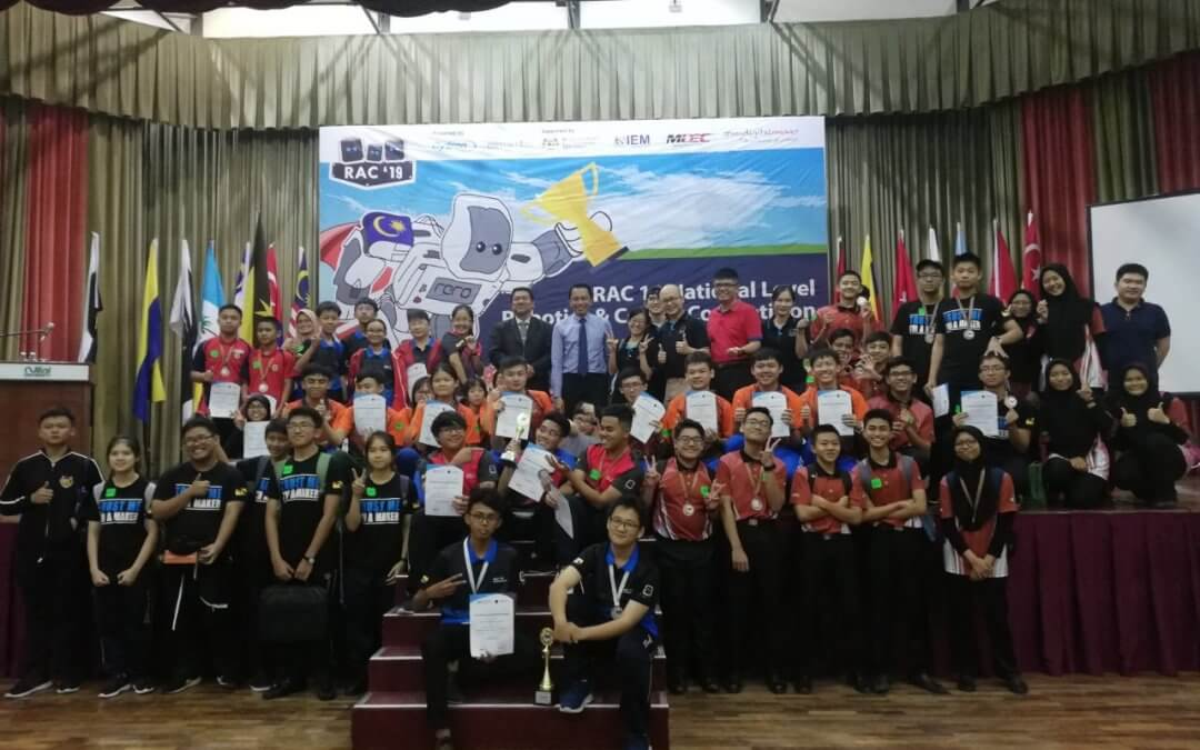 RAC 19 National Level Robotic & Coding Competition